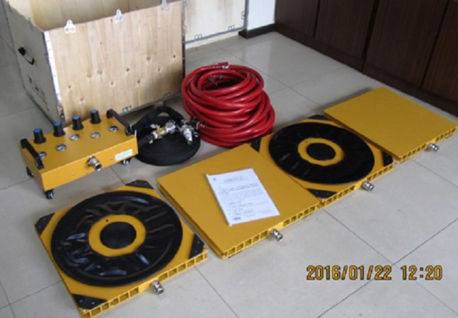 Air Moving Skates 20T Finer Lifting Tools